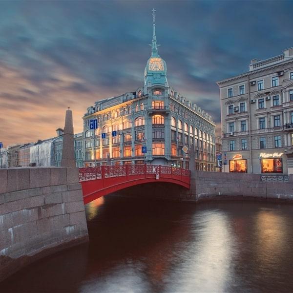 красный мост в санкт петербурге