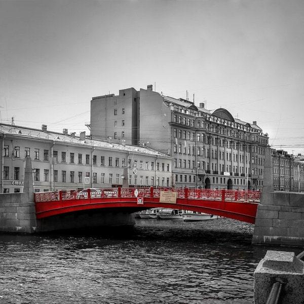 красный мост петербург