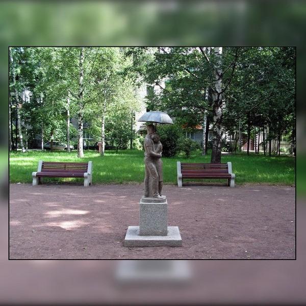памятник влюбленным в санкт петербурге