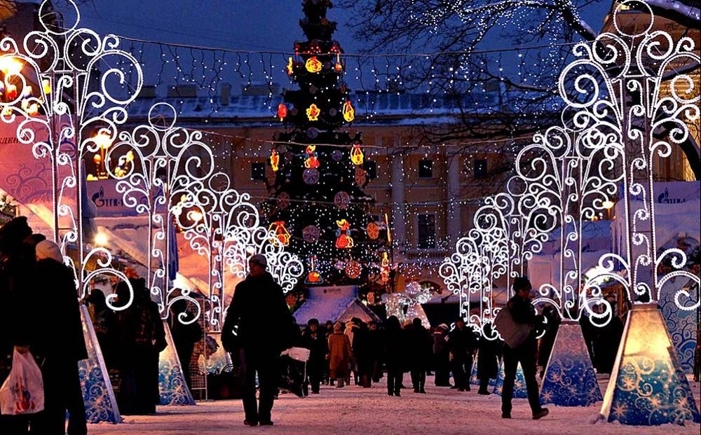 Новогодние ярмарки в Санкт-Петербурге 2020-2021