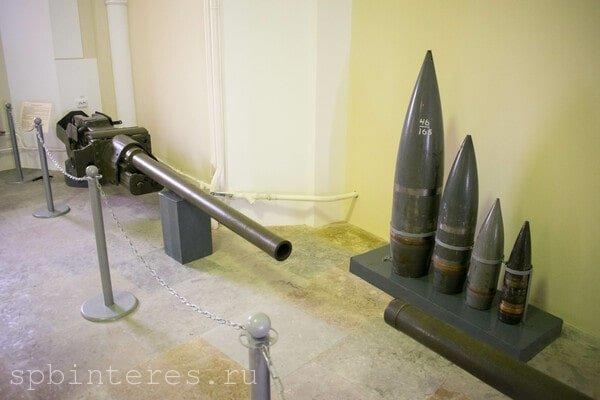 Оружие в музее