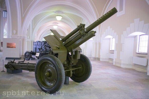 Пушка в музее