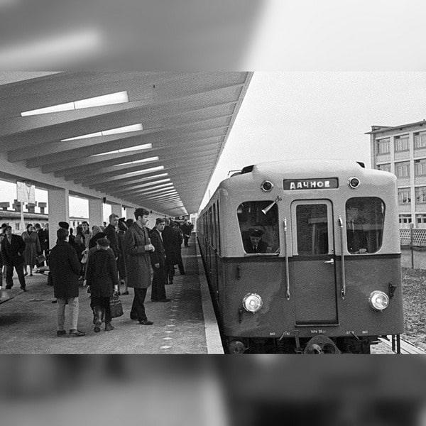 Заброшенное метро «Дачное»