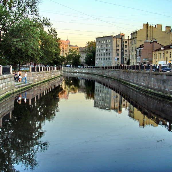 Карповка – «лесная» река