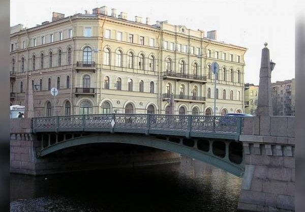 Мост в Санкт-Петербурге