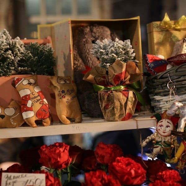 ярмарка рождественская в спб