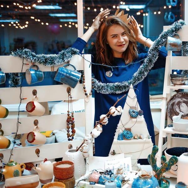ярмарка новогодняя в санкт петербурге