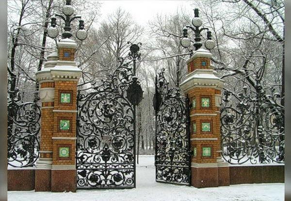 Зимние ворота