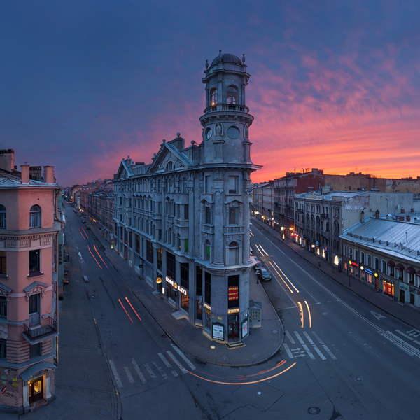Площадь в СПб
