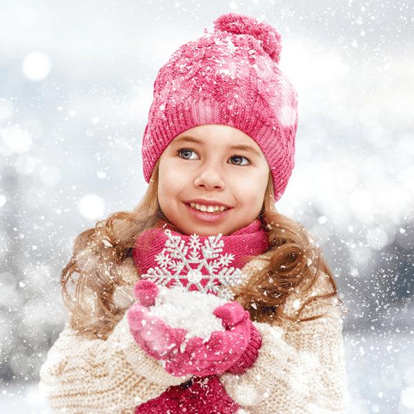 Как одеть ребёнка зимой в Питере