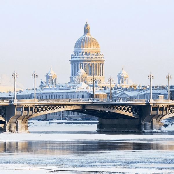 санкт-петербург в январе