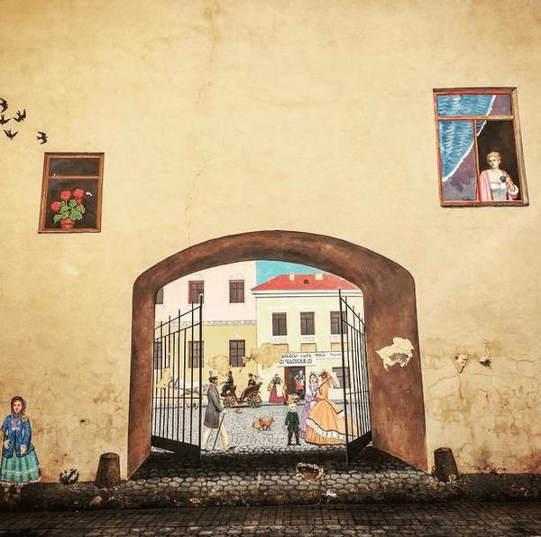 Исторический двор на Гороховой