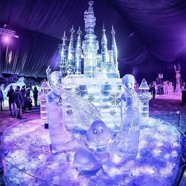 Фестиваль ледяных фигур спб