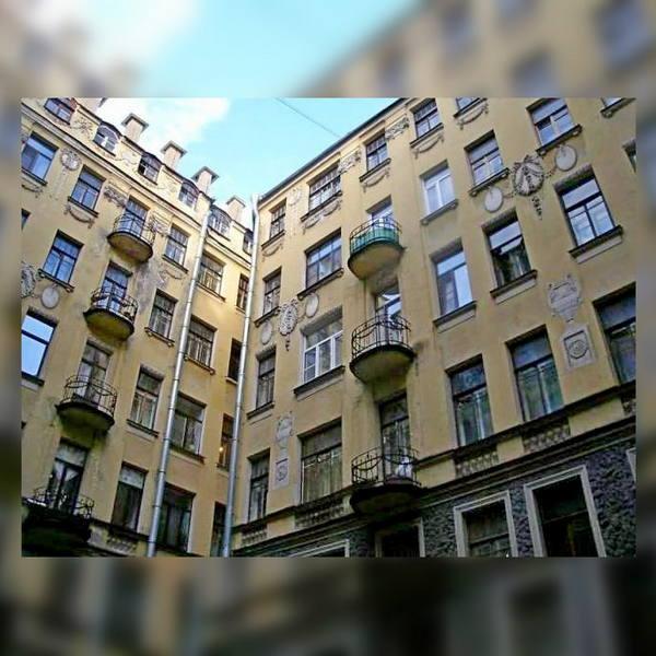 Двор доходного дома Т. П. Павловой