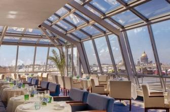 Рестораны с видом на крыши Санкт-Петербурга