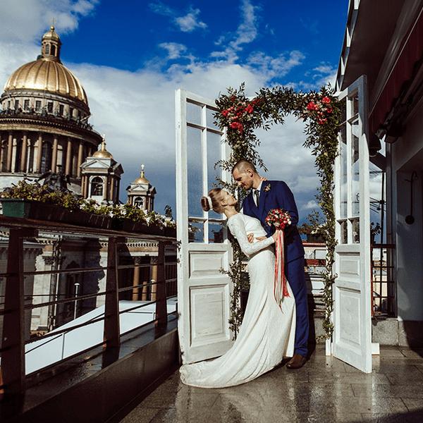регистрация брака на крыше спб