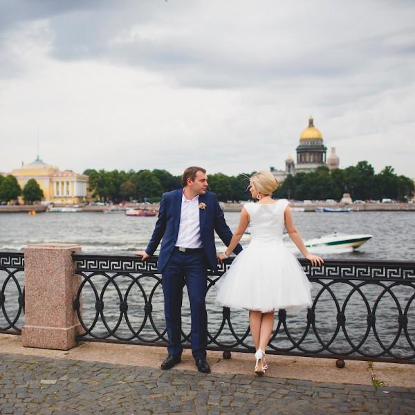 свадьба на набережной спб