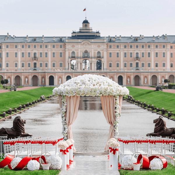 свадьба Константиновский дворец