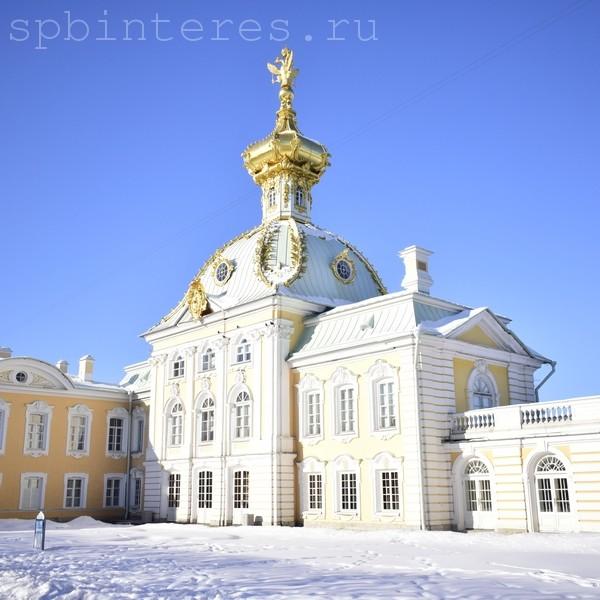 петергоф зимой фото