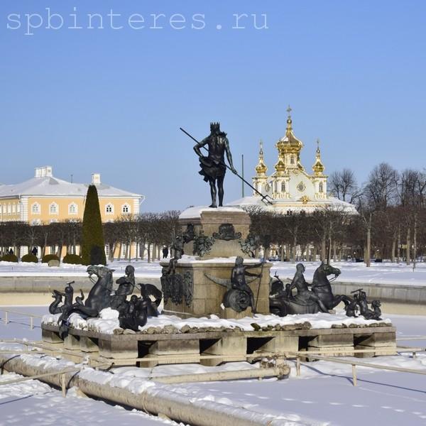 петергоф фото зимой