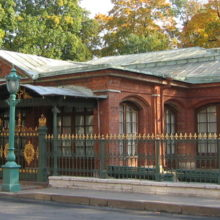 Домик Петра I в Санкт-Петербурге