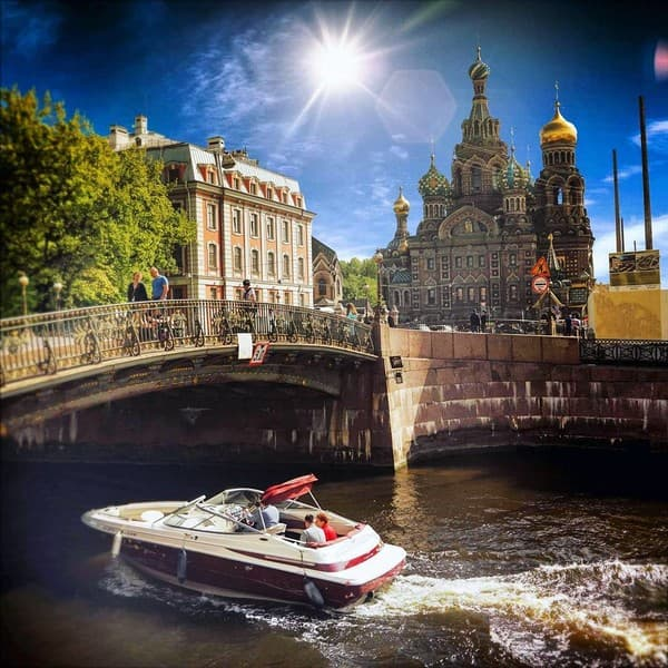 экскурсия по каналам санкт-петербурга летом