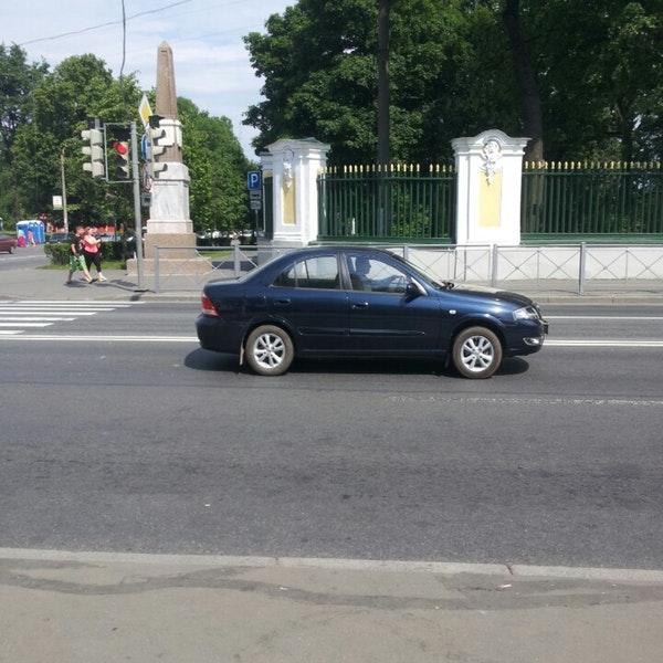 Петергоф как добраться на машине?