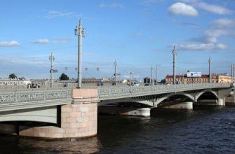 Благовещенский мост в Санкт-Петербурге - фото, описание