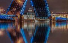биржевой мост в санкт петербурге