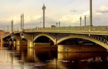 благовещенский мост в санкт петербурге где находится