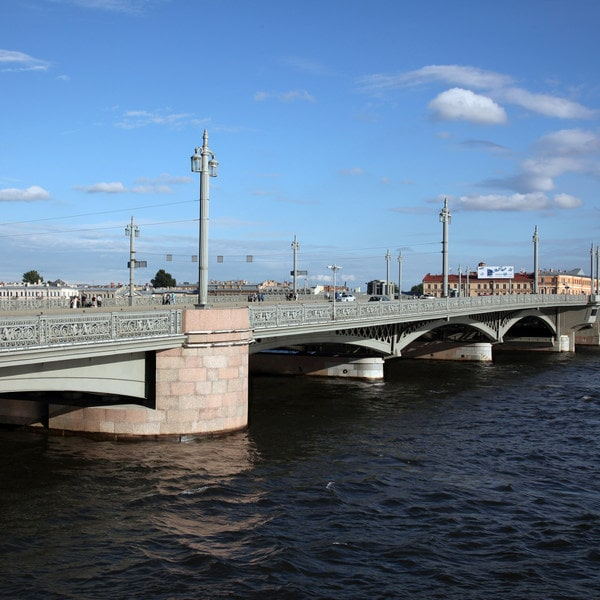 благовещенский мост фото