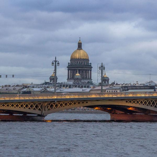 благовещенский мост +в санкт петербурге