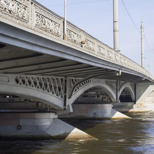 благовещенский мост в санкт петербурге