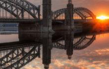 большеохтинский мост история