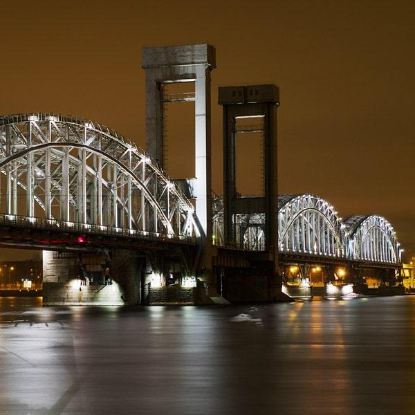 железнодорожный финляндский мост фото