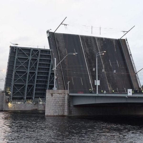 тучков мост разводка