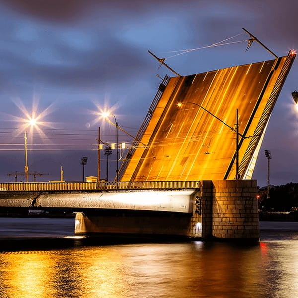 тучков мост спб на карте