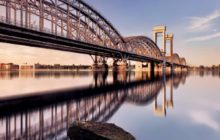 железнодорожный финляндский мост