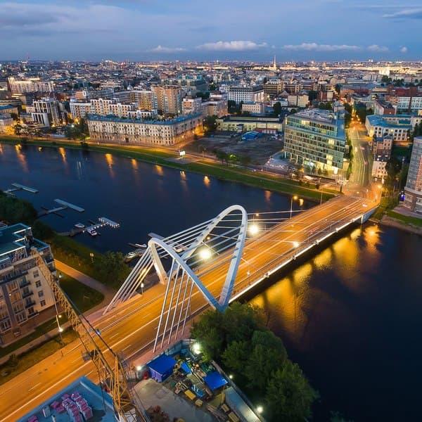 лазаревский мост в санкт петербурге