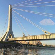 Мост Ахмата Кадырова в Петербурге: описание, характеристики, история «имени»