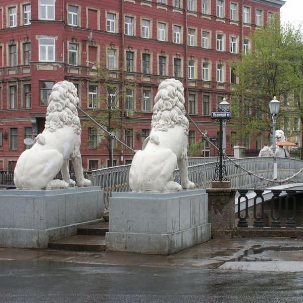 львиный мост в санкт петербурге как добраться