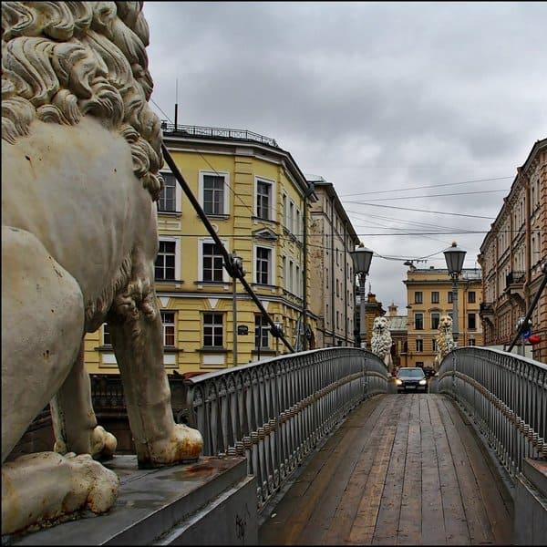 львиный мостик спб