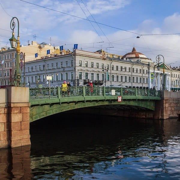 зеленый мост санкт петербург