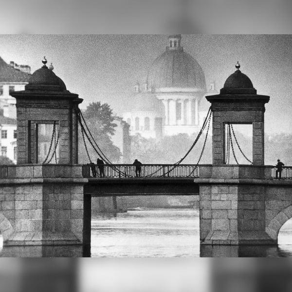 мост ломоносова в санкт петербурге