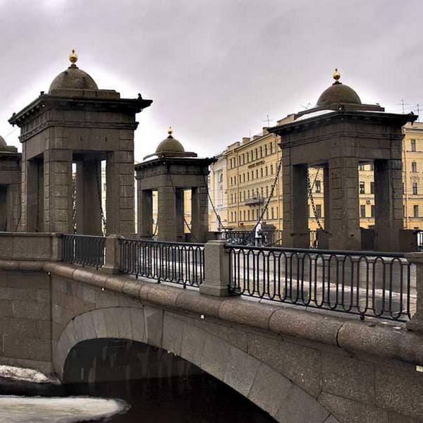 Мост Ломоносова спб