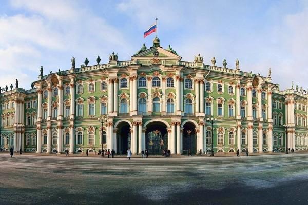 Зимний дворец в Санкт-Петербурге - краткое описание, история