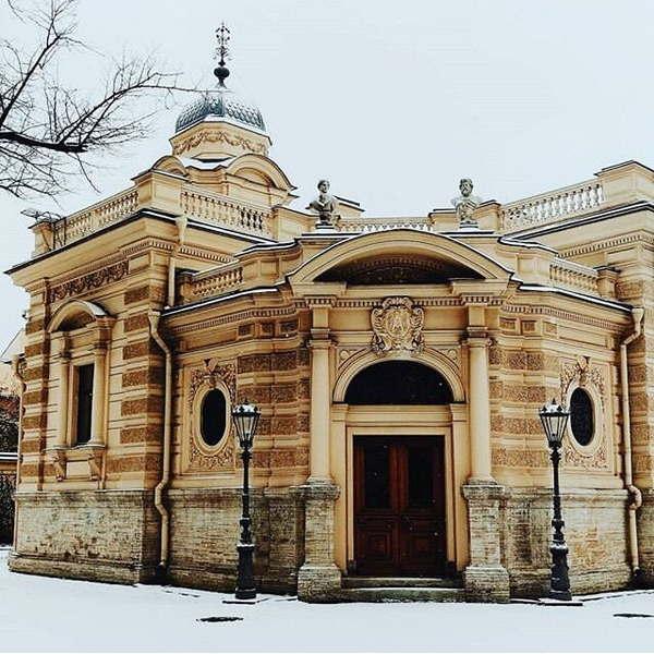 Дворец Алексея Александровича - фото, описание