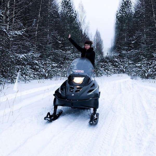 Где покататься на снегоходах в Санкт-Петербурге и области - 5 мест