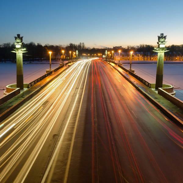 Ушаковский мост в Петербурге - дата постройки, время развода, фото