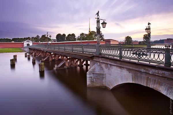 Иоанновский мост в Санкт-Петербурге - адрес, фото, как добраться